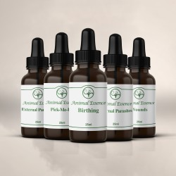 Animal Essences Set  (5 x 25ml bottles)